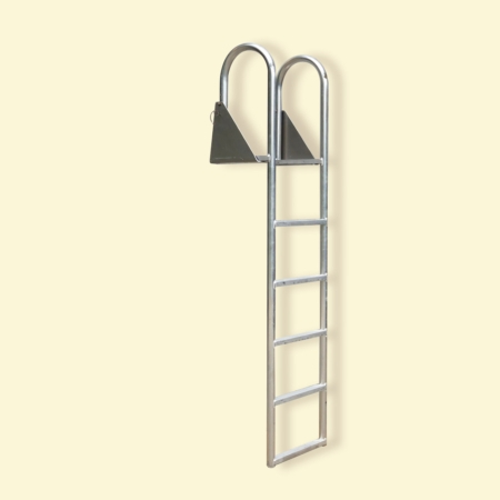 5 Step Hinged Dock Ladder