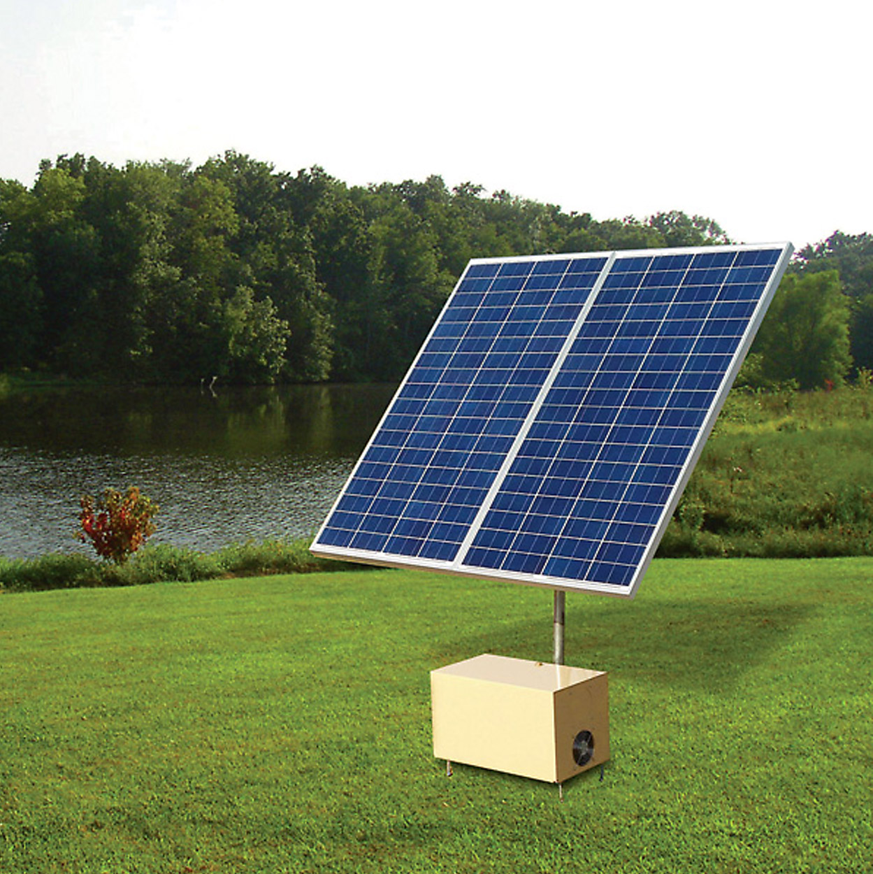 Solar Aerator 3 Direct Drive Aeration System