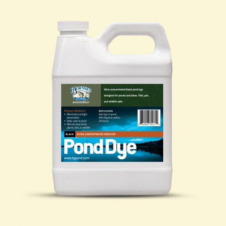 Bjornsen Pond Ultra-Concentrated Pond Dye 1 qt Jug