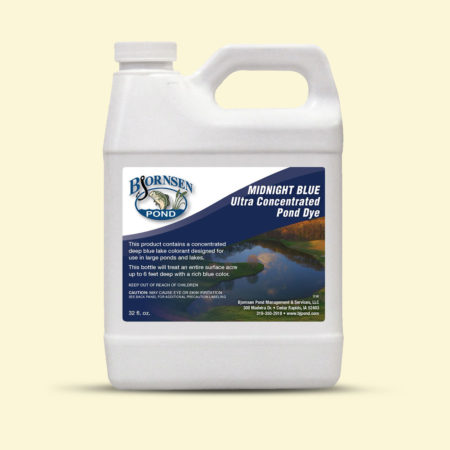 Concentrated Midnight Blue Pond Dye - 1 qt. Liquid