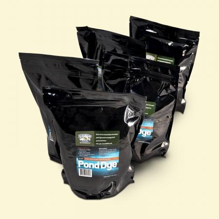 Black Pond Dye - Powder 5 Packets