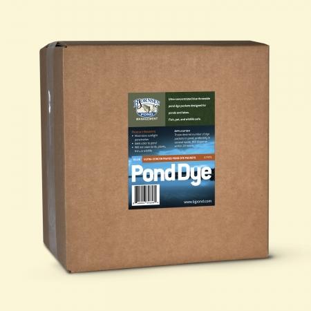 Blue Pond Dye - Powder Box Front