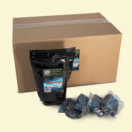 Blue Ultra-Concentrated Pond Dye Packets-Dry (20 pouches containing 80 total packets)