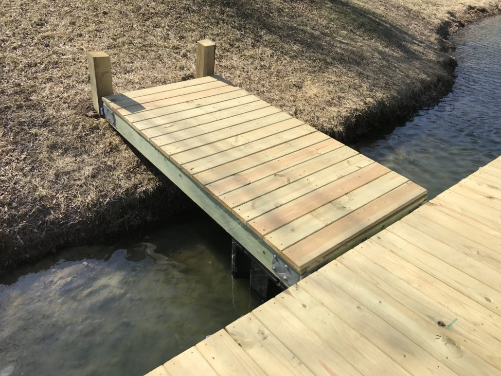 Dock Gangway Kit – 4-ft x 10-ft