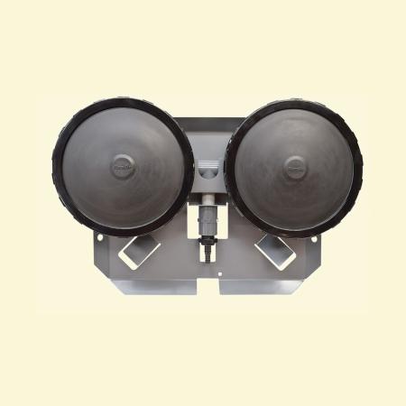 Dual Membrane Self-Sinking Air Diffuser