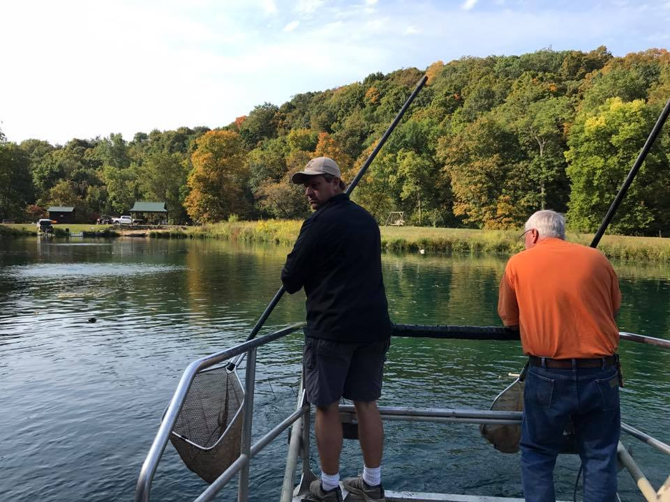 Fall 2017 electrofishing tour