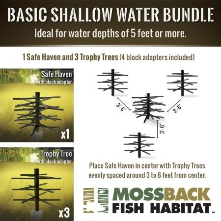Mossback Basic Shallow Water Bundle