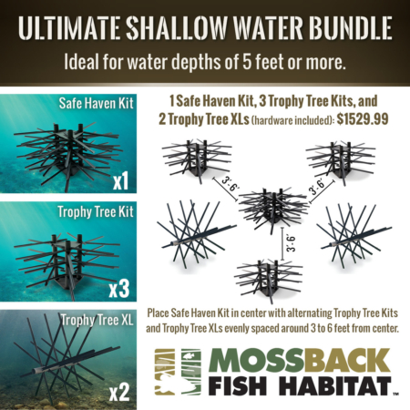 Mossback Ultimate Shallow Water Bundle Layout