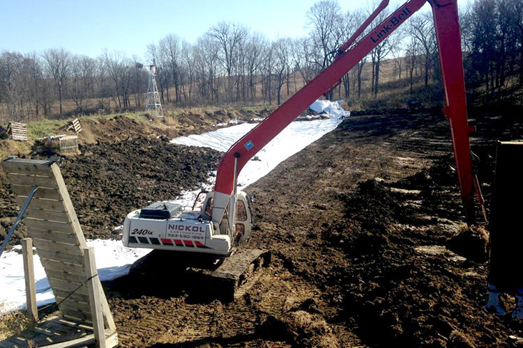 Nickol Earthmoving Pond Liner