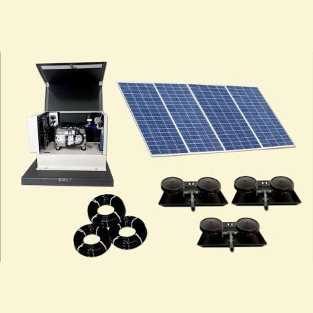 Outdoor Water Solutions Classic DW (Deep Water) Solar 6 Aeration System