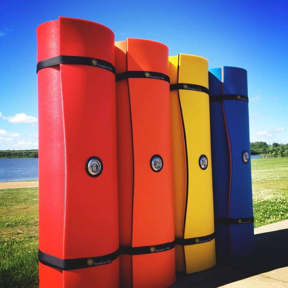 Paradise Pads premium water pads