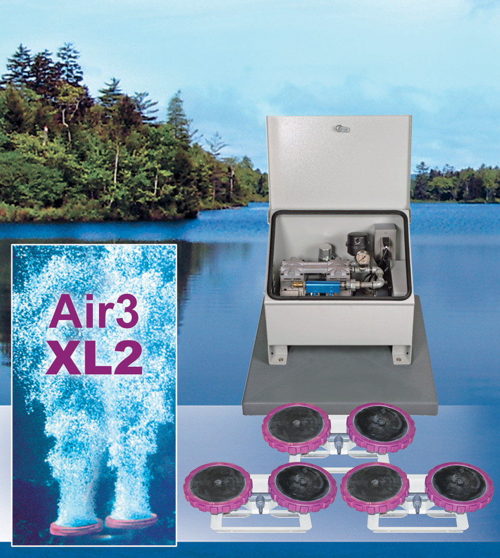 Vertex Air 3 XL2 Aeration System