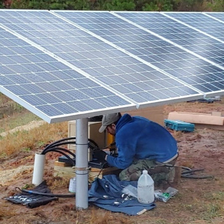 Solar-Powered Aeration Systems