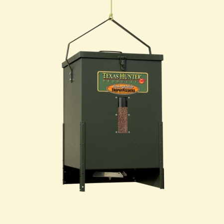 Texas Hunter Hanging Fish Feeder With Hanging Bracket
