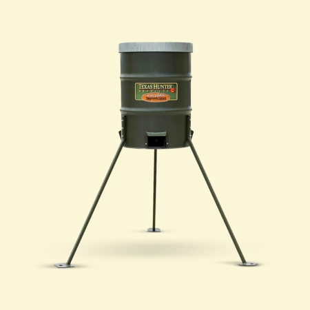 Texas Hunter 300 lb. Deer Protein Barrel Feeder